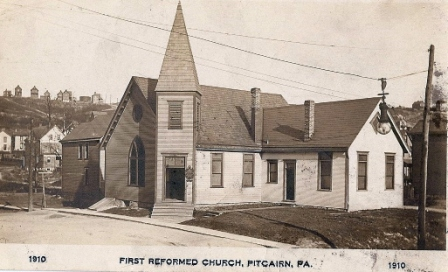 First Reformed Church 1910