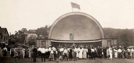 Pitcairn Bandstand